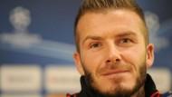 Beckham trifft auf Manchester United