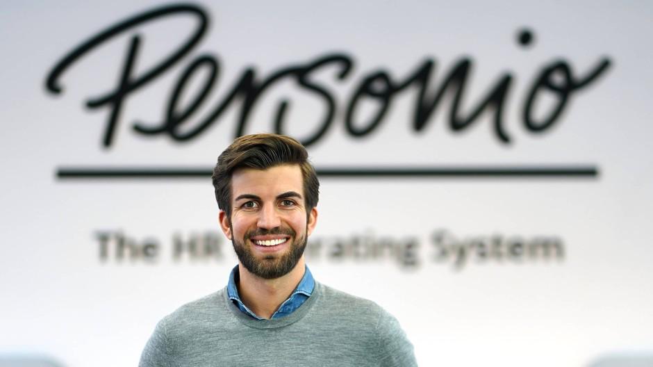 Hanno Renner, einer der Gründer von Personio