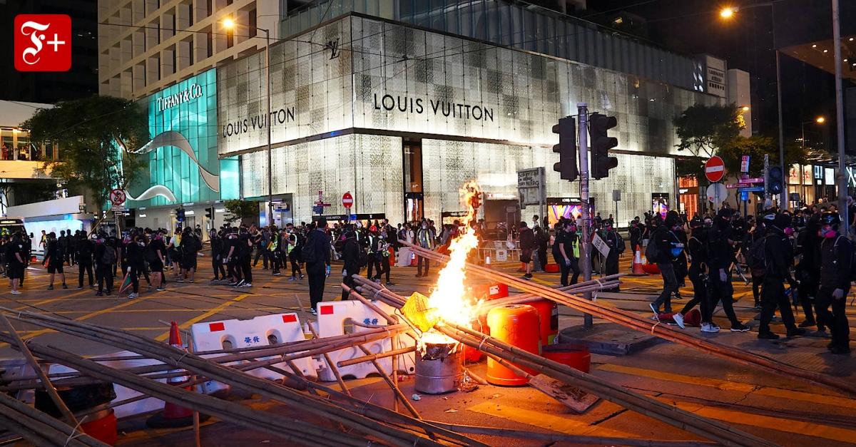 Wegen gewaltsamer Proteste: Verliert die deutsche Wirtschaft ihr Vertrauen in Hongkong?
