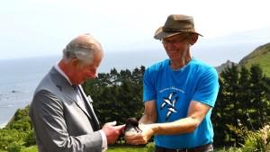 Prinz Charles besucht Neuseeland
