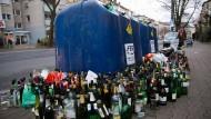 Die gläserne Stadt: Frankfurt hat ein Entsorgungsproblem.