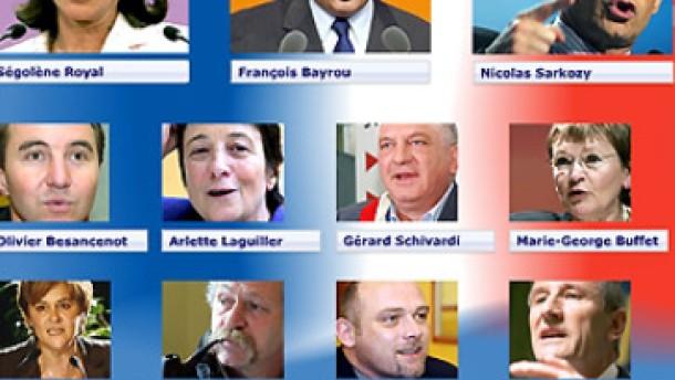 Ségo gegen Sarkozy - Wer wird Präsident?