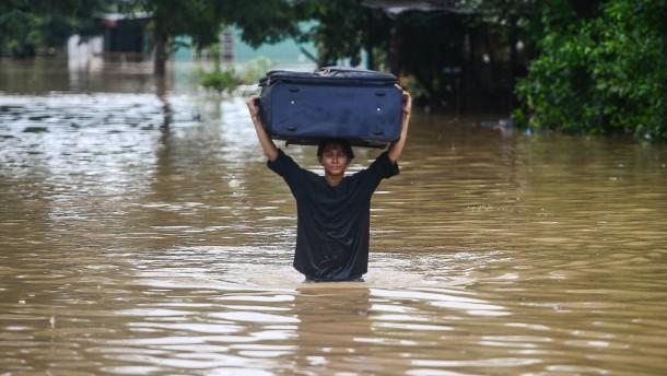 """Fast 60 Tote durch Sturm """"Eta"""" in Zentralamerika"""