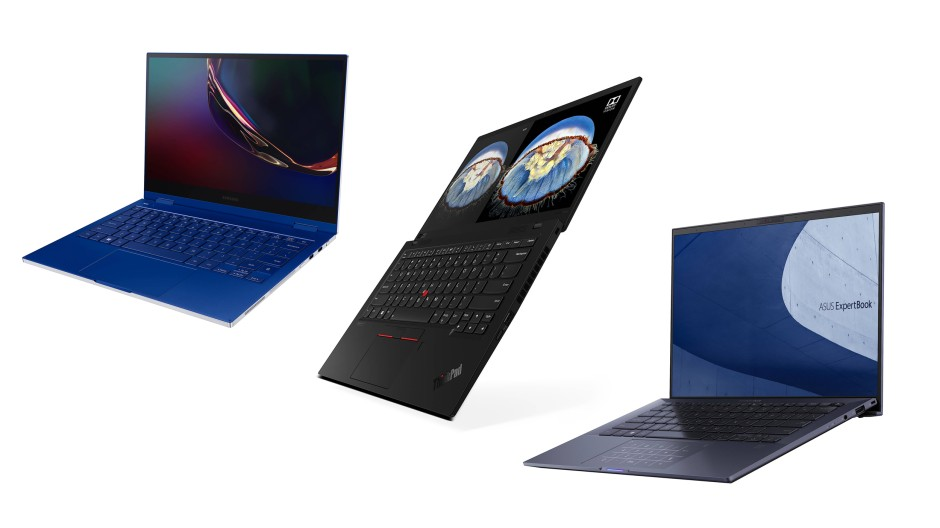 Drei Oberklasse-Notebooks von Samsung, Lenovo und Asus im Vergleich