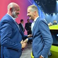 Vereint im Wandel der Autobranche: VW-Betriebsratsvorsitzender Bernd Osterloh (links) und VW-Chef Herbert Diess