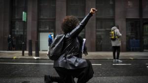 Demonstrationen in London und Berlin