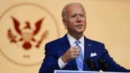 Joe Biden im November in Wilmington, Delaware