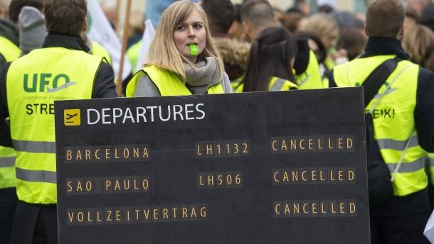Ufo und Lufthansa wollen über mögliche Schlichtung sprechen