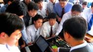 Die Elite Nordkoreas lernt auf der privat finanzierten Universität PUST in Pjöngjang.