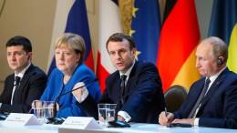 Russland und Ukraine einigen sich auf Waffenstillstand
