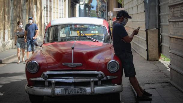 Kubas Tourismus fährt langsam wieder hoch