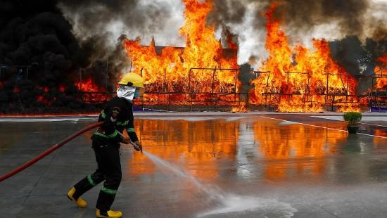 Drogen in Milliardenhöhe verbrannt