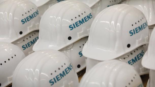 Siemens streicht weltweit 7800 Stellen