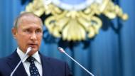 Alles Teil des Spiels: Putins Strategie ist es, die Macht Russlands international zu erweitern.