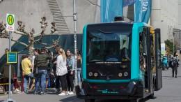 In Frankfurt bald Busse ohne Fahrer