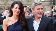 Feilen heimlich: Amal und George Clooney
