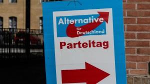 Weitere Umfrage sieht AfD als zweitstärkste Partei