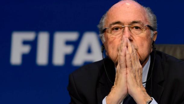 Fifa stellt Strafanzeige gegen Blatter