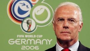 DFB geht gegen Beckenbauer und Fifa vor