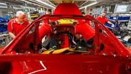 Alarmstufe Rot? Porsche-Stammsitz in Stuttgart