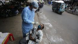 Fünf Millionen Infizierte in Indien