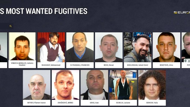 Europol veröffentlicht Bilder von Sexualstraftätern
