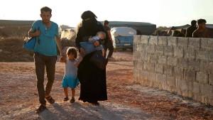 Syrische Flüchtlinge träumen von der Türkei