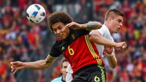 Bei Belgien hakt es hinten noch