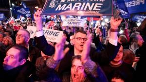 Stichwahl zwischen Macron und Le Pen