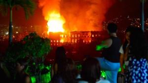 Geschichte in Flammen