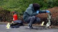 Mann soll Frau vor Klinik in Brand gesteckt haben