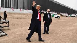 """Trump: """"Niemand wird die Mauer zu Mexiko anrühren"""""""