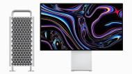 Macht zusammen 9000 Dollar: der neue Mac Pro und das neue 6K-Display
