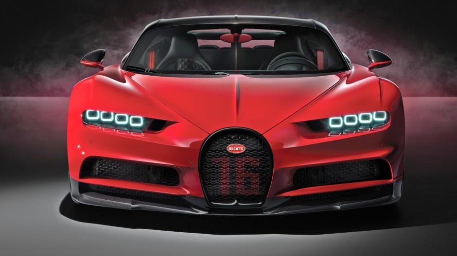 Die Spitze des Motorenbaus mit 16 Zylindern: Viel Historie steckt im Bugatti Chiron. Und mit kroatischer Hilfe wohl eine Zukunft als Elektriker