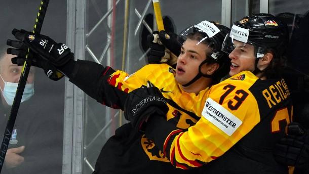 Deutsches Eishockey-Team erreicht WM-Viertelfinale