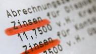 Was sollte als Rendite erwartet werden? Das Institut der Wirtschaftsprüfer dringt in einem Positionspapier auf marktgerechte Verzinsung.
