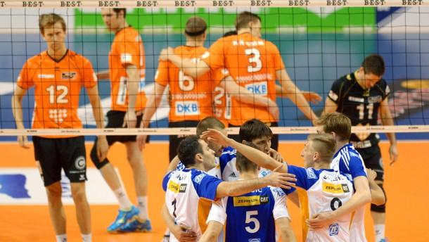 Berlin Volleys vergeben Titel-Matchball