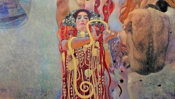 Sah so Klimts Bilder-Schock aus?