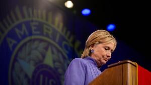 Clinton ist so unbeliebt wie nie zuvor