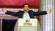 Syriza-Chef Tsipras erklärt Sparpolitik für beendet