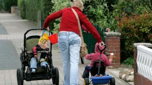 Nicht so beliebt: vom Staat bezahlte Kinderbetreuung zu Hause.