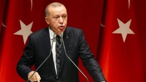 Isolierte Türkei