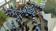 Großrazzia bei Apple Daily: 500 Polizisten gegen Hongkongs freie Stimme