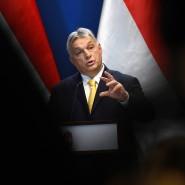 """""""Ein christliches Land"""": Premierminister Viktor Orbán lehnt die Einwanderung von Muslimen nach Ungarn ab."""