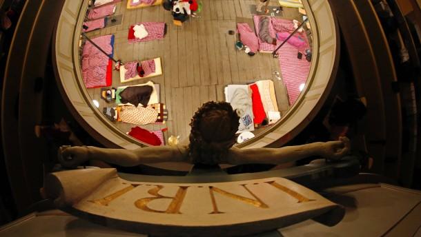 Kirchenasyl schützt nicht vor Strafe und Abschiebung