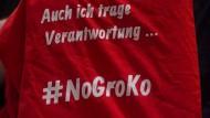 SPD-Spitze versucht Basis zu überzeugen