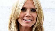 Schnabel halten: Heidi Klum spielt in der Badewanne bevorzugt mit kleinen Schnabeltieren