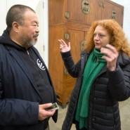 Reger Austausch: Ai Weiwei mit der Grünen-Politikerin Margarete Bause in Peking