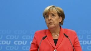 Merkels Spagat