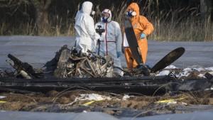 Russische Geschäftsfrau und Vater starben durch Absturz bei Egelsbach